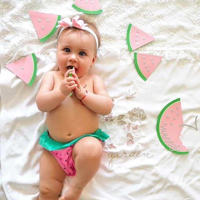 Отбележи месечинките на бебето по закачлив и креативен начин