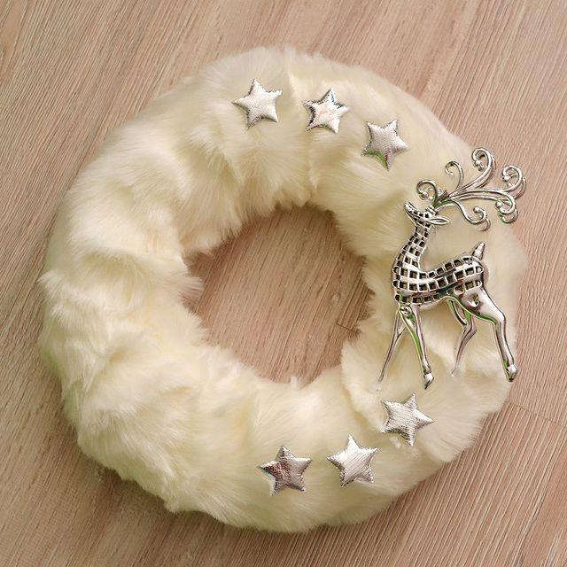 Коледен венец елен
