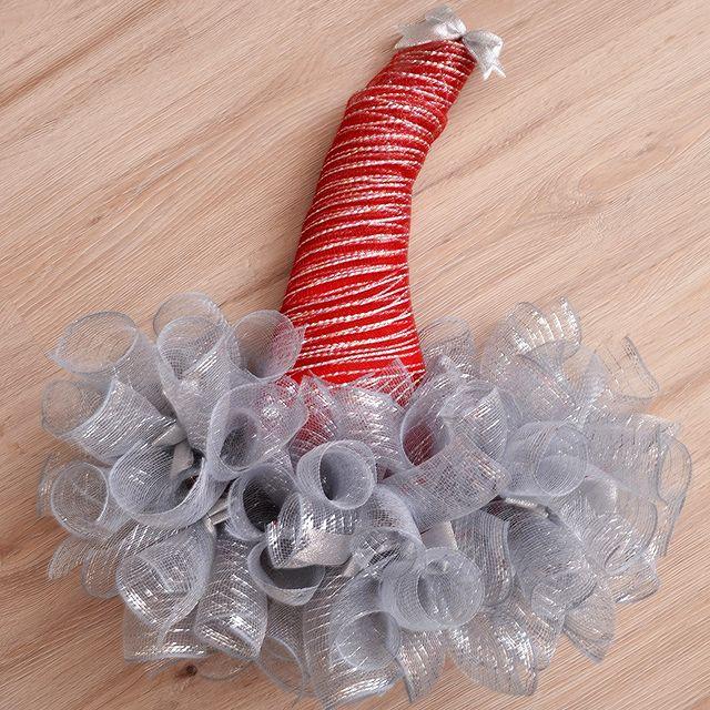 Коледен венец шапка