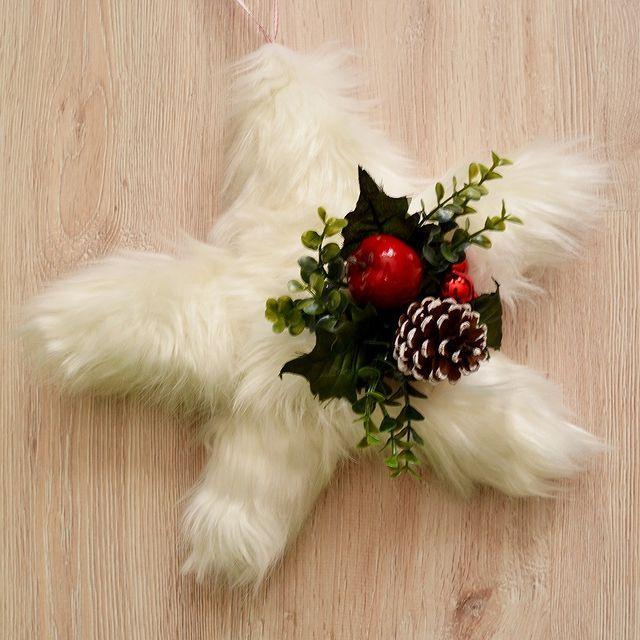 Коледен венец Звезда