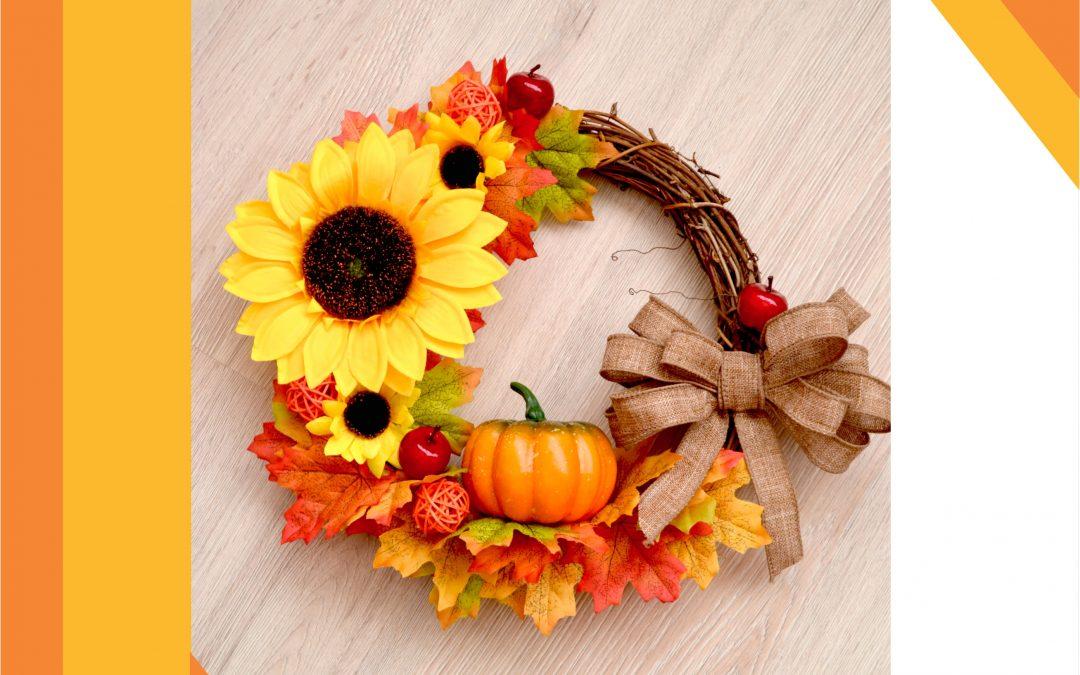 Весело настроение у дома: украси с есенен венец!